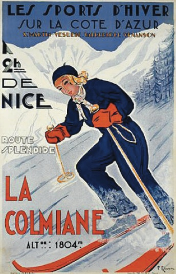 Historic Ski Poster eBook Collection