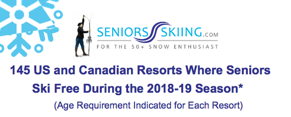 Free* Skiing For Seniors