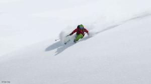 Powder running: Chamonix, France Credit: Mike Hatrup