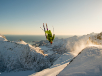 Flipping out: Lofoten, Norway Credit: Oystein Aasheim