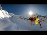 GoPro Flipping Out On Mt. Cook