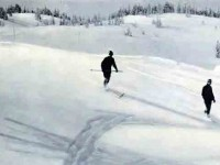 Ah, the good old, old days.  Boomers were inspired by these ski pioneers from the 1920s.