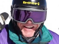 SeniorsSkiing.com is proud to spotlight George Jedenhoff, 97,  who skis Alta every year. Credit: Ski Utah