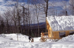 Quebec's Charlevoix region is a wonderful destination for cross-country skiing.  Credit: Tourisme Quebec