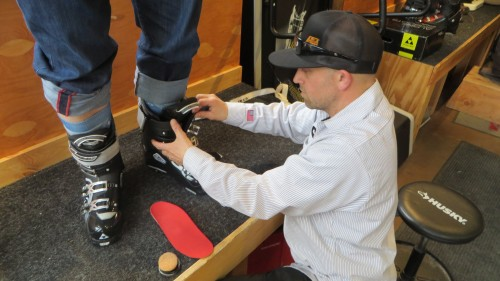 Fitting boots may require custom-fit insoles. Credit: MasterFit