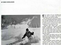 From Skiing Area News, Winter 1970.