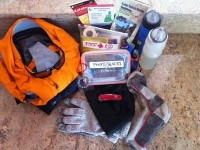 "Here are the ""Ten Essentials"": Gear you will need for a hike. Credit: Steve Hines"