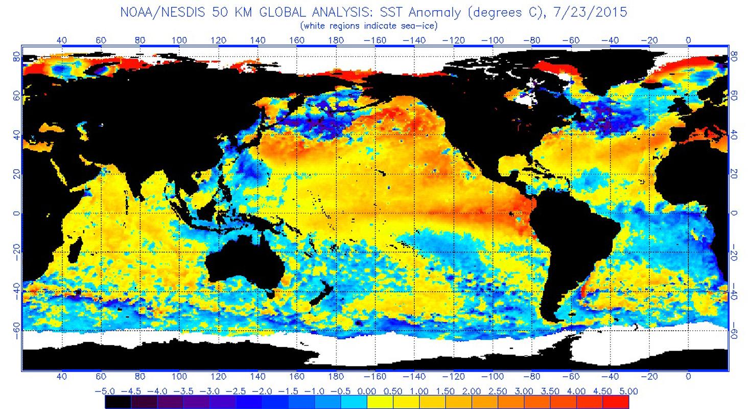Early  Winter Forecast El Nino Cometh - El nino weather map usa