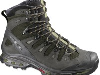 Real hiking boots are lightweight and support your ankle.  Sneakers don't cut it on the trail. Credit: REI