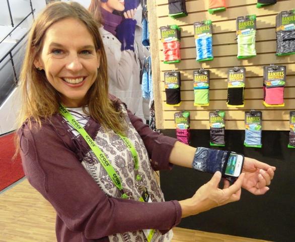 Harriet's Pick #2: Spriggs Wrist Wallet Credit: Harriet Wallis