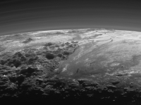 Pluto:  Just a rocket ship ride away. Credit: NASA