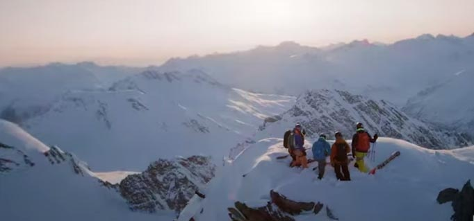 The view from the top of the world is pretty impressive in Warren Miller's new flick: Chasing Shadows Credit: Warren Miller Entertainment