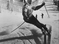 An elegant skier, Stein Eriksen was an Olympian, instructor, skiing ambassador and charming personality. Credit: Deer Valley