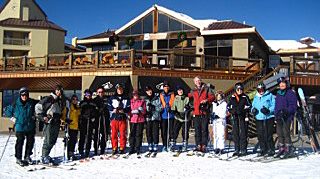 This is the average size of a Roads Scholar group. Taken at Crested Butte. Credit: Jan Brunvand
