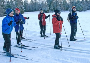 Here's a portion of a Roads Scholar group at Craftsbury Outdoor, VT. Credit: Road Scholars