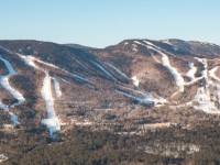 Terrain for everyone at Sunday River and lots of room for blue cruising. Credit: Sunday River