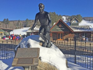 Hannes Schneider is called the Father of Modern Skiing at Cranmore. He established ski instruction that opened the sport beyond college athletes. Credit: SeniorSkiing