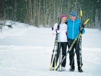 Valentines and Cross-Country skiing.  What could be more romantic? Credit: X-CSkiResorts