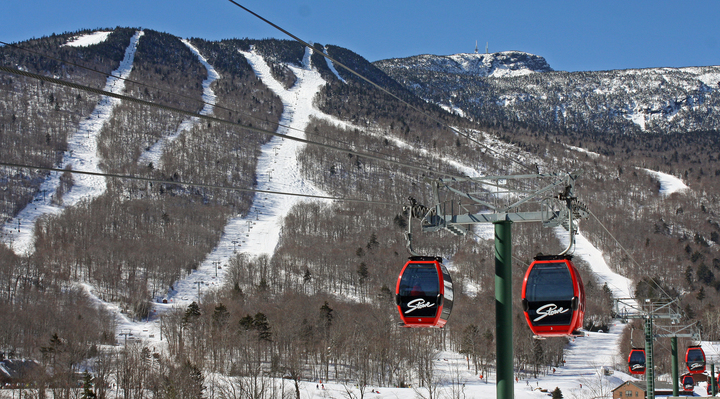 Stowe's Mt. Mansfield has some legendary trails in front: Goat, Starr, National