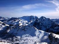 Marmolada and its glaciers. Credit: Paolo Gaudiano