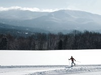 Groomed trails are only one advantage of skiing at a commercial XC resort or commercial center.