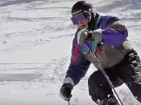 SeniorsSkiing.com salutes George Jedenoff on his 98th birthday. Credit: Ski Utah