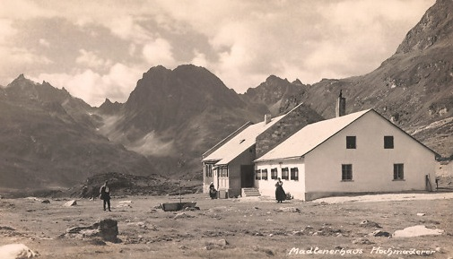Madlern Haus in the Austrian Alps, circa 1930s