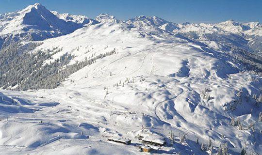 Voralberg region, Austrian Alps, was visited by Hemingway and friends.
