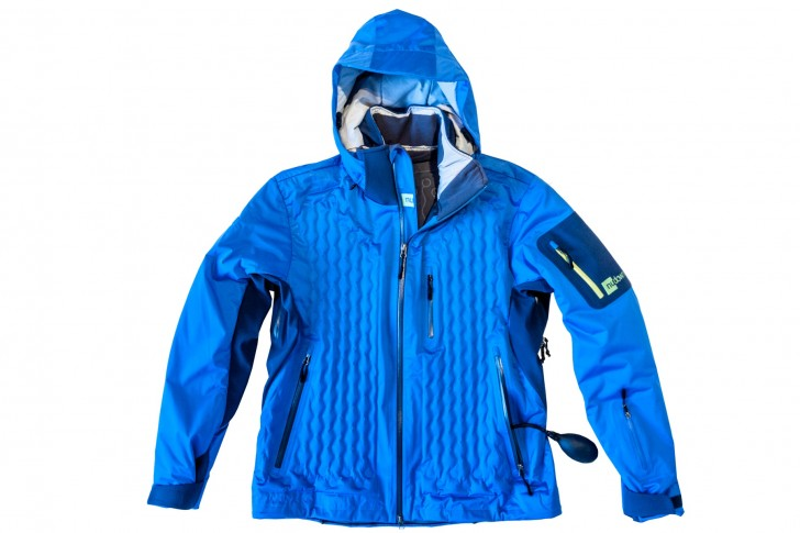 Here's the Nudown parka I tested. Removes the hassle of layering. Credit: Nudown