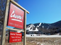 Cannon Mountain is a state-owned area, famous for its aerial tram and free skiing for 65+ seniors. Credit: Cannon Mountain
