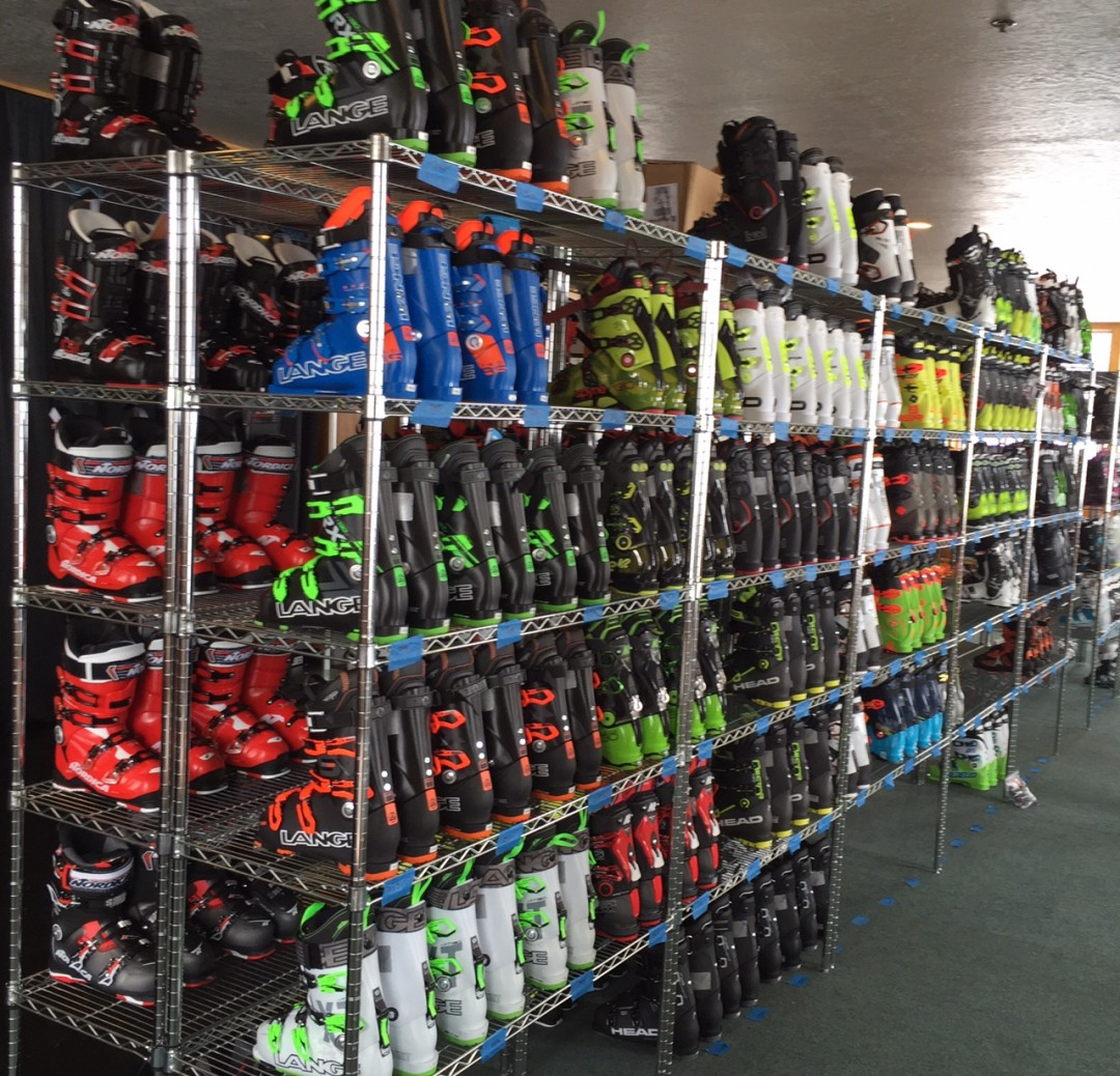 Boots waiting to be evaluated. Credit: MasterFit