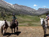 NOLS Horsepacking Course teaches you horsemanship, packing and camping skiis. Credit: Kelsey Week/NOLS