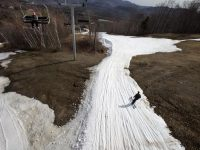 Boston Globe's Stan Grossfeld reports on May skiing at Sunday River, ME. Credit: Stan Grossfeld/Globe Staff