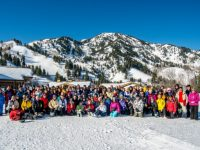 Club leader Richard Lambert personally leads senior ski trips around the globe. Credit: 70PlusSkiClub