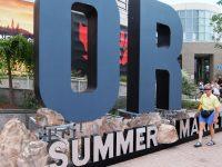 Outdoor Retailers Summer Market is a huge trade show in SLC. Credit: Harriet Wallis