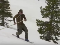 Long Pole Skiing