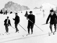 Early One Pole Skiers