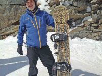 XCSkiResorts.com publisher Roger Lohr likes to go alone, sometimes on the spur of the moment. Anti-social? Expedient? Credit: Roger Lohr