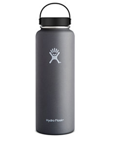 Expensive water bottle, insulated, vacuum. Credit: LL Bean