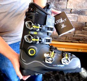 Salomon Boot With Heat. Credit: Harriet Wallis