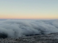 Here Comes Winter: From Mt. Washington, NH