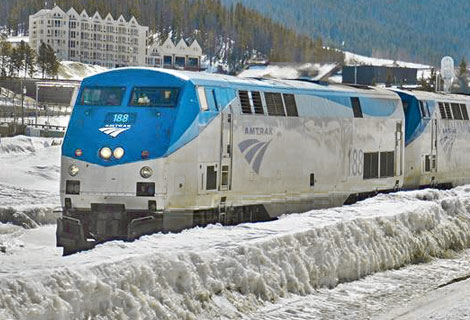 The newly Revived Winter Park Express. All Aboard! Credit: Amtrak