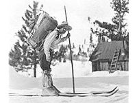 Norway-born Snowshoe Thompson delivered mail in the Sierras in the 19th century.