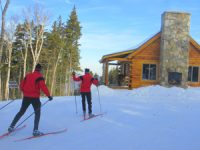 New for 2013-14 season:  3-5km Nordic Terrain on Mt. Stickney