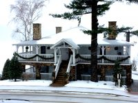Mirror Lake Inn is a tasteful and modest spot to relax and enjoy winter sports activities. Credit: Joan Wallen