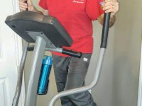 Marc Liebman recommends elliptical training for senior skiers.