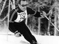 Two-time Olympian Tom Corcoran was an all-around athlete who put Waterville Valley on the map. Credit: Waterville Valley Resort.