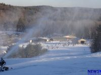 Volunteers kept Blandford going and gave the small area a community feel. Credit: New England Ski Industry