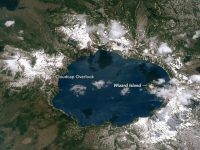 Crater Lake From Space