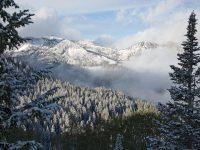 Utah first snow